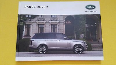 Range Rover Vogue SE Autobiography hard back brochure sales catalogue 2016 MINT