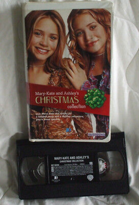Mary Kate & Ashleys Christmas Collection VCR Tape Vhs Movie