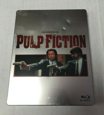 Pulp Fiction Collectible Blu-Ray Steelbook NEW IMPERFECTIONS