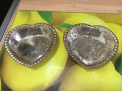 2 X indian Glass Bowls