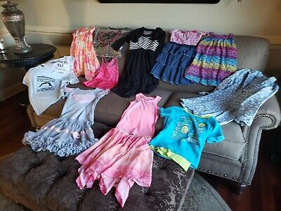 Large16 piece Lot Of Girls Size 7/8 Summer Clothes