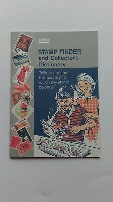 Xlcr Stamp Finder And Collector's Dictionary