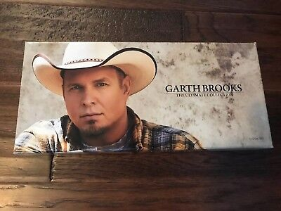 GARTH BROOKS The Ultimate Collection 10 CD Disc BOXED SET