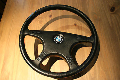 New Genuine Bmw 4 Spoke Steering Wheel Non Airbag P/n 323311550671 Or 11550671
