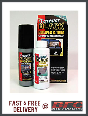 Forever Black Dye Kit - Trim and Bumpers  Cleaner and recondtioner 295ml