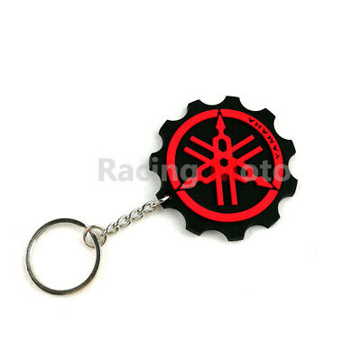 Keychain Key Ring Rubber Motorcycle Key Chain For Yamaha MT-09 MT-03 MT-01 MT-07