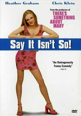 Say It Isnt So (DVD, 2001)