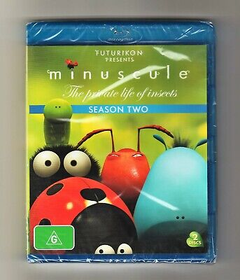 Minuscule The Private Life Of Insects : Season 2 Blu-ray - Brand New & Sealed