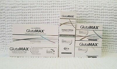 GlutaMax Instant Whitening Set with Nanowhite/ Cell Active White Technology