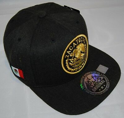 65a5b385f37 MEXICAN hat Snapback MEXICO Federal State Embroidered Baseball cap-ZACATECAS