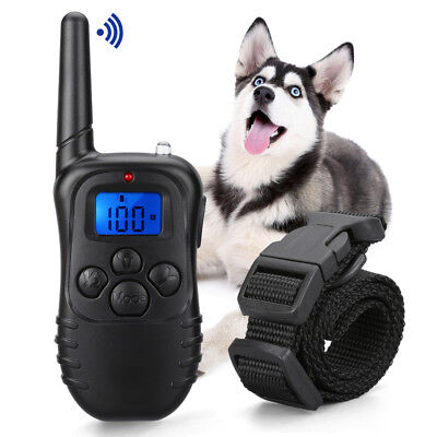 New Dog Training Collar Rechargeable And Rainproof 330yd Remote Dog Shock Collar