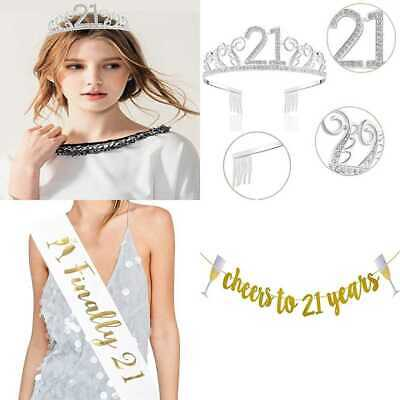 50Th Birthday Decorations Party Supplies Gifts For Women 50 Sash Banner Crown Ca