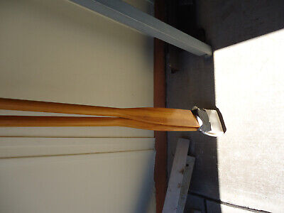 wooden rowing oars