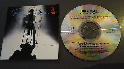 ROY ORBISON KING OF HEARTS 1992 CD mint! CANADA CRYING I DROVE ALL NIGHT KD LANG