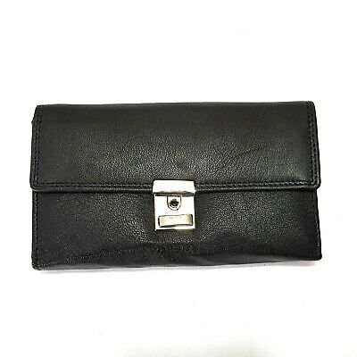 Leather Waiter Purse with Key Cash Bag Wallet Wallet Taxi Server Purse