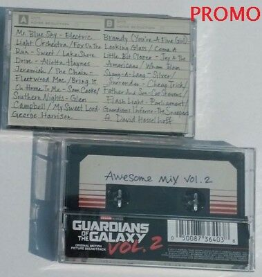 Guardians Of The Galaxy: Awesome Mix Vol. 2 PROMO [Cassette]
