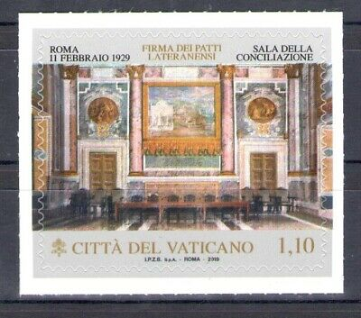 2019 Vatican - Issue Joint with Italy - Joint Issue - Signature Trattat