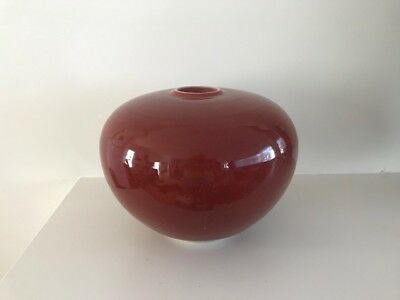 Fine Ted Secombe Large Studio Art Pottery