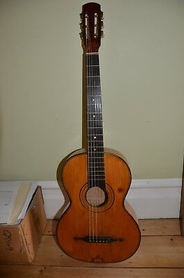 Vintage Hawaiian Koa Parlor Guitar. Great condition. Extremely Rare