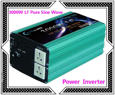12000W Max 3000W Low Frequency Pure Sine Wave Power Inverter 12V DC/110V AC 60Hz