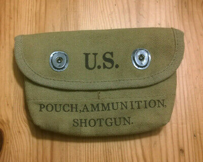 Cartouchiere U.s. Tweedies 1943 Pouch Ammunition Shotgun (Reproduction?)