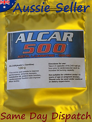 ACETYL-L-CARNITINE (Alcar) 100 grams powder - Weight Loss - Fat Burner