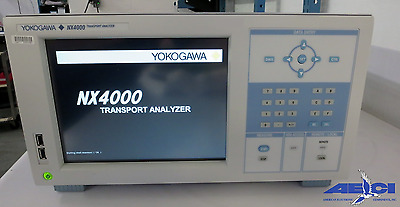 Yokogawa Nx4000 40g Communication Transport Analyseur