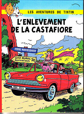 Hommage A Herge Tintin L'enlevement De La Castafiore + Paris Flash