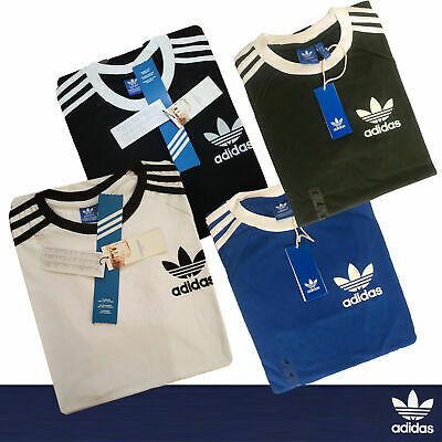 Adidas Originals Men's T-Shirt California Retro Crew Neck Short Sleeve -70% Sale