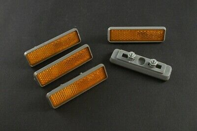 Cat Eye RR-0217 bolt-on bicycle pedal reflectors set of 4