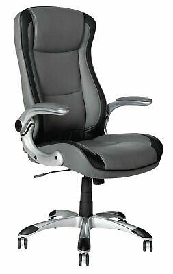 Argos Home Dexter Office Chair Black and White - E55