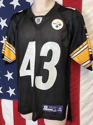 the latest f3345 78d3d REEBOK AUTHENTIC NFL Jersey Pittsburgh Steelers Troy ...