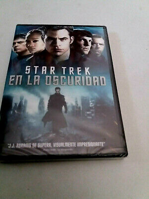 "Dvd ""Star Trek En La Oscuridad"" Precintado Sealed J.j. Abrams Chris Pine Zachary"