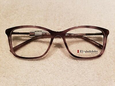 a4ddb256c02 Elizabeth Arden EA 1188 3 Eyeglass frames Transparent Purple 54 16 135 New