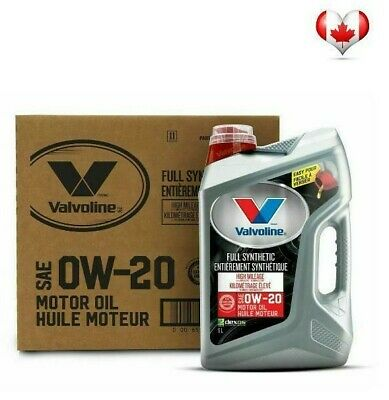 0W20 VALVOLINE FULL SYNTHETIC with MAXLIFE Technology MOTOR OIL (3X 5L) Pack