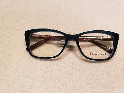 1d2620d864c Elizabeth Arden EA 1184 3 Eyeglass frames Green Purple Brown 53 16 135 New