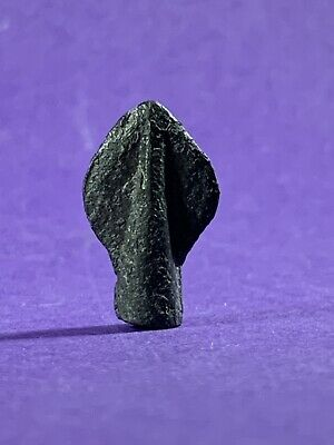 Bronze Age Greek Socketed Leaf Bladed Arrowhead Battle Relic.