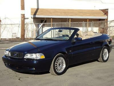 2004 Volvo C70 HPT TURBO CONVERTIBLE 2DR COUPE 2ND-OWNER! 16K Mls LEATHER HEATED/MEMORY SEATS CD-CHANGER KEYLESS ENTRY OWNER'S MANUALS C-70 CLEAN