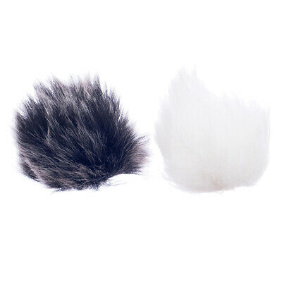 2pcs Mini Microphone Windscreen Windshield Muff Lapel Mic Cover