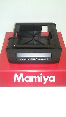 Mamiya RZ PRO II WINDER TOP + BOTTOM COVERS (NEW spare parts)
