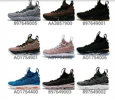 new styles e57c2 b24f8 Nike Lebron XV EP 15 James Air Max Flyknit Mens Basketball Shoes Sneakers  Pick 1