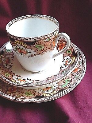 ENGLISH CUP SAUCER AND PLATE by GLADSTONE POTTERY ( my box 3)