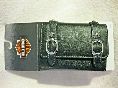 Harley Davidson Premium Leather Accessory Saddle Back Case Brand New