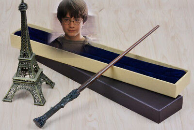 """For Harry Potter 14.5"""" Metal Core Magical Wand Replica Cosplay Christmas Gift US"""