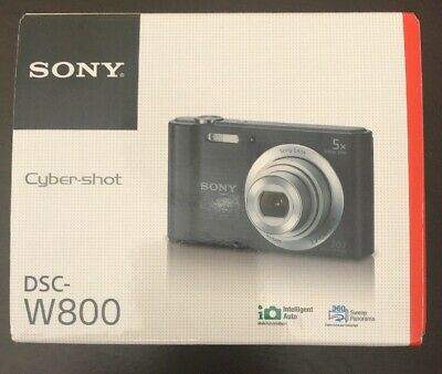 Sony Cyber-shot DSC-W800 20.1MP Digital Camera Silver