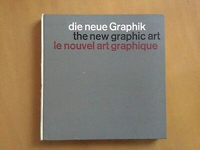 Die Neue Graphik The New Graphic Art - Karl Gerstner - Design Typography Niggli