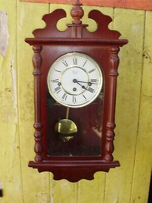 Wall  Clock Rapport Westminster  Chiming Clock  Key And  Pendulum