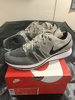 7b863a2c8cb70 NEW - NIKE Flyknit Trainer 2017 - Pale Grey - Men s Size 11 -  79.99 ...