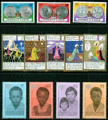 Grenadines (St.vincent) – 1977-1979 – Small Collection – Vf**