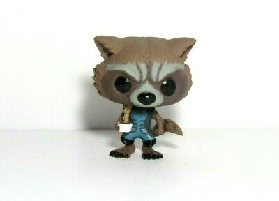 Rocket Raccoon & Potted Groot Funko Pop Loose Guardians Of The Galaxy 2015 Sdcc